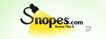 snopes losing credibility