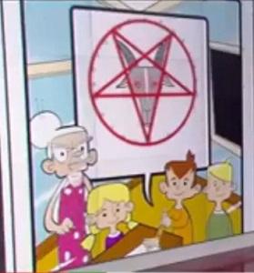 cult - Satanic Coloring Book